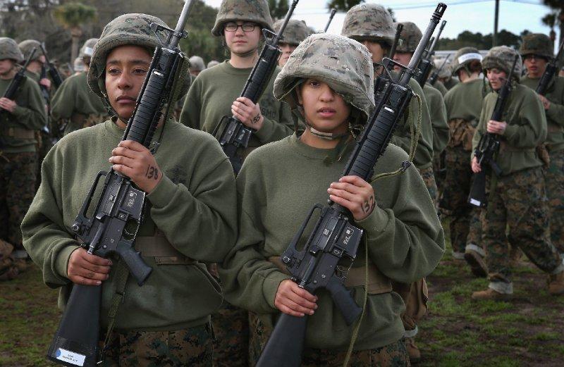 Democrats Tuck Female Draft Into Defense Bill