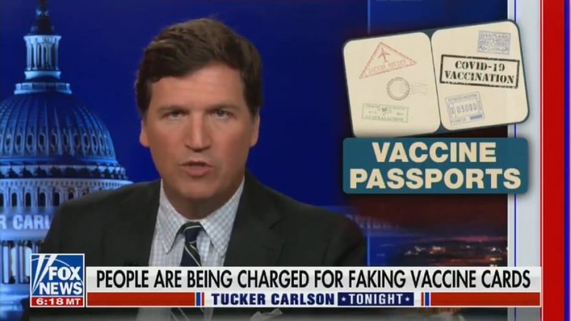 Tucker Carlson Says People Who Try to Limit the Spread of COVID-19 Should Be 'Punished' (Video)
