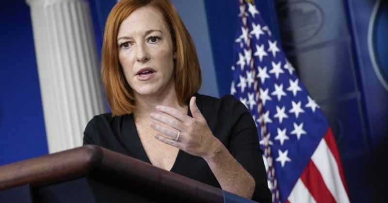Psaki criticized for suggesting male reporter had no grounds to question Biden's abortion stance