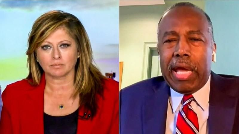 Ben Carson on racial equality: 'Why would anyone want to change a society that is working beautifully?'