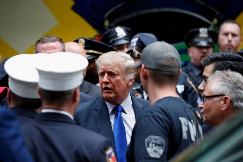 """Trump Disgraces America By Mentioning """"Rigged Election"""" To NYC First Responders on 9-11 Anniversary"""