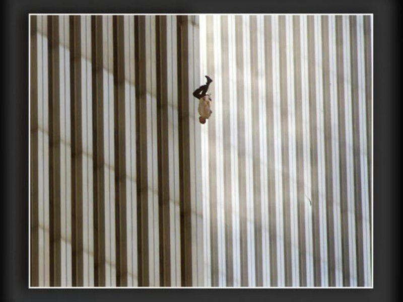"""Richard Drew on photographing the """"Falling Man"""" on 9/11"""