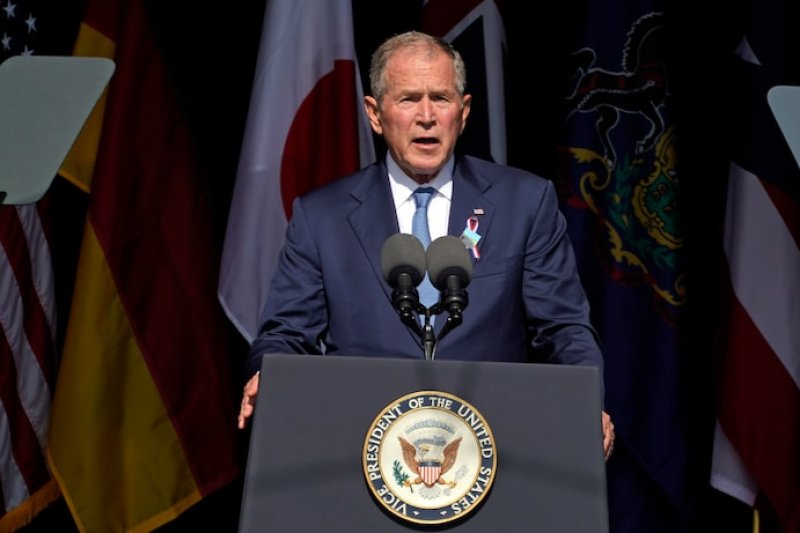 Opinion: Yes, the Jan. 6 insurrectionists were terrorists. George W. Bush just indicted them.