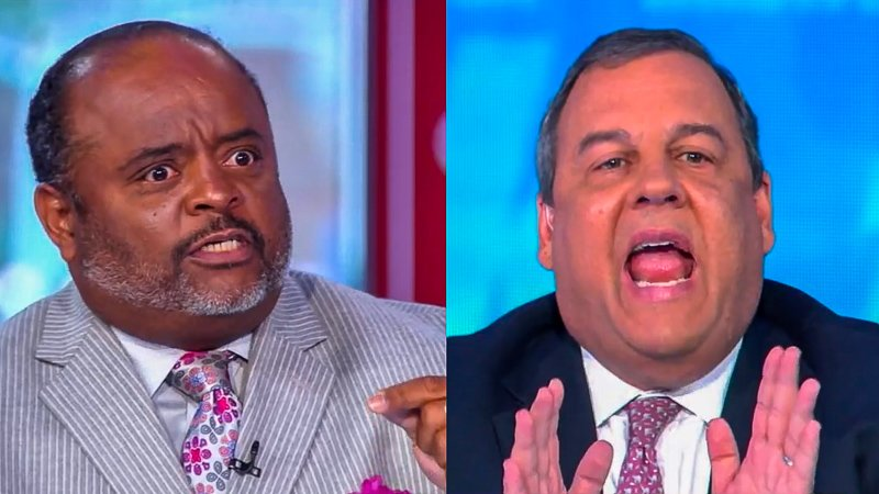Roland Martin Shreds Chris Christie For Enabling Trump's Conspiracy Theories