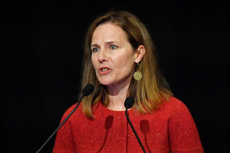 If Amy Coney Barrett means what she just said, she should resign from the Supreme Court right now   The Independent