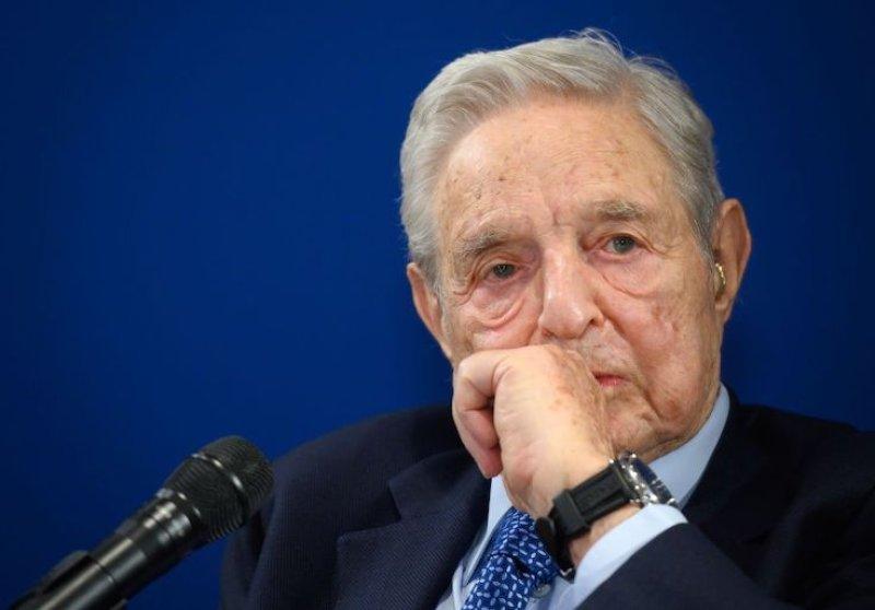 Left-Wing Billionaire George Soros Bankrolling Group Behind Harassment of Kyrsten Sinema