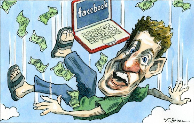 The  Sierra Madre Tattler!: Mark Zuckerberg Might Be Having the Worst Week of His Life (and that was only Monday!)