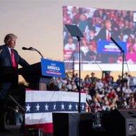 Jordan Klepper At The Last Trump Rally