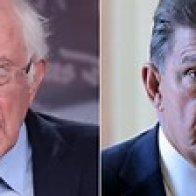 Bernie Sanders Hints at 'Progress' After Meeting Joe Manchin Over Biden Plan Impasse