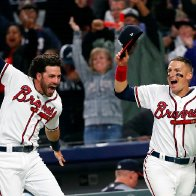 'Pure joy' for Braves: 1st pennant since '99