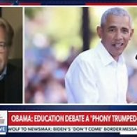 Newsmax Goes There: Says Obama Is Hitler