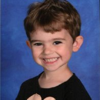 My son's preschool photo