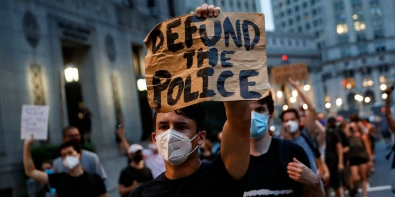 What happened to 'defund the police'?
