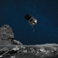 NASA mission successfully touched down on asteroid Bennu