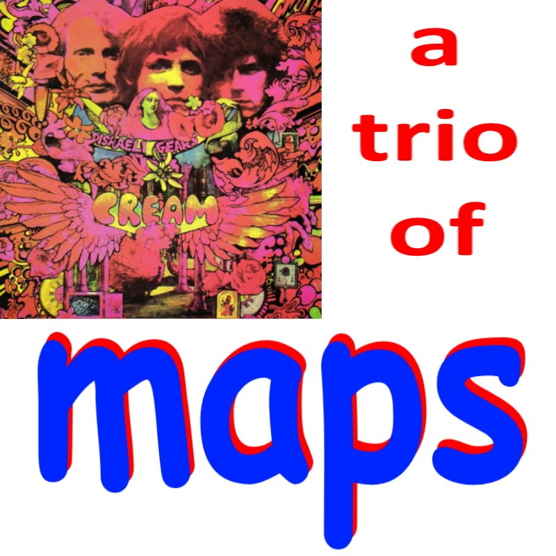Maybe the best ever...   the maps, I mean...