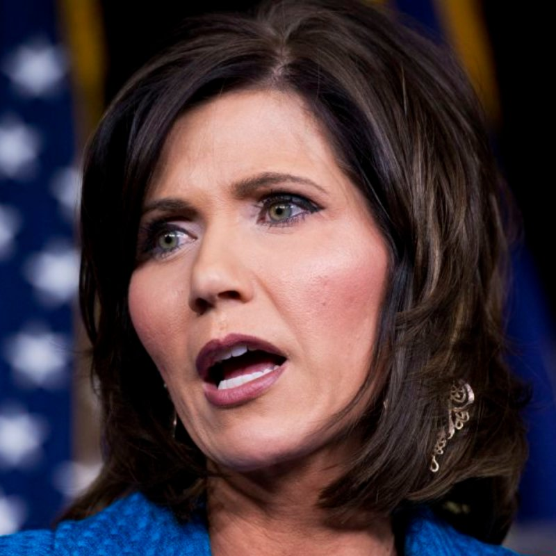 Kristi Noem rigidly follows Trump strategy of denial as Covid ravages South Dakota