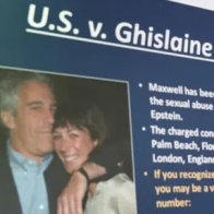 Ghislaine Maxwell court hearing disrupted by apparent QAnon followers