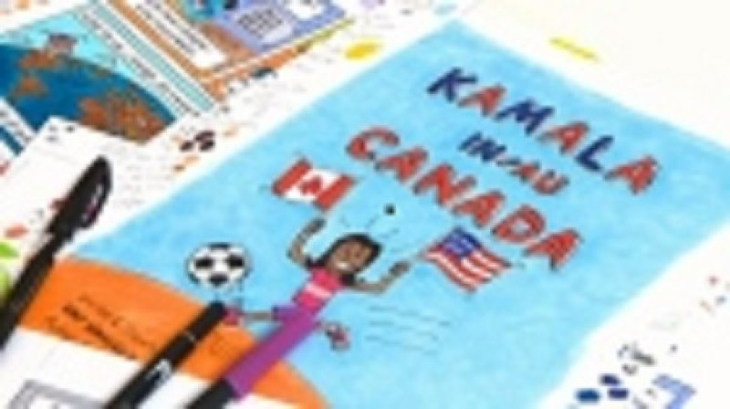 Comic finds inspiration in Kamala Harris's youth in Canada