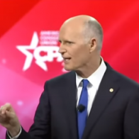 Sen. Rick Scott slams Democrats for saying 'you can protest, but you can't go to church'