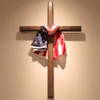The US Flag at the Front of YOUR Church is Blasphemous