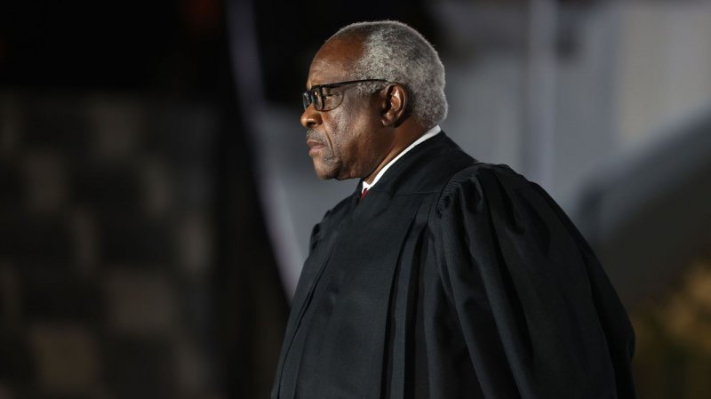 """Clarence Thomas says Supreme Court could be """"most dangerous"""" branch"""