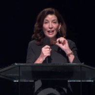 Tucker calls Gov Hochul 'New York archdiocese of the coronacult' after creepy church lecture
