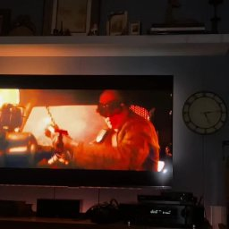 New TV with Hue Sync