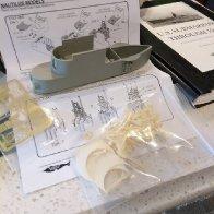 Revell Gato Build: Fairwater Conversions