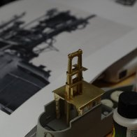 Building the USS Lapon:  Fairwater Details