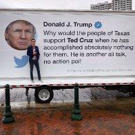 Trump's vociferous Cruz Tweet Truck!
