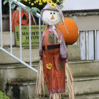 It is Almost Halloween in Our Village