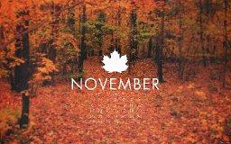 So Glad November is Over