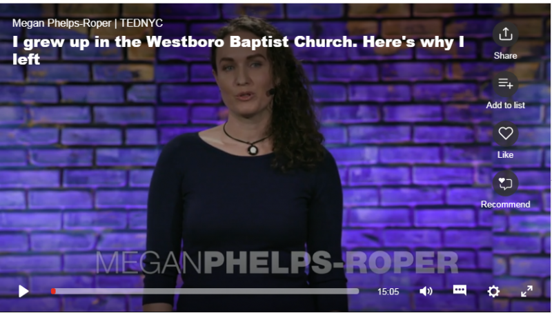 """""""I grew up in the Westboro Baptist Church. Here's why I left"""""""