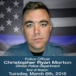 In the name of Officer Gary Michael, and now Officer Christopher Morton