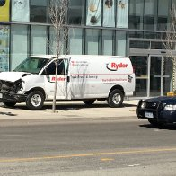 Military Style AR-V8 Assault Van mows down 10 in Toronto