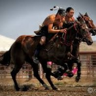 Indian Country Relay Racing, No place for old men or wimps...