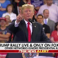 Trump holds rally in Minnesota after touting progress on immigration, trade