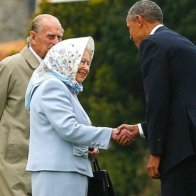 Iconic photos of The Queen with American Presidents