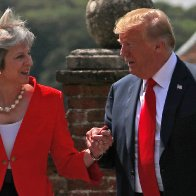 Ignore The Protesters. The British People Love President Trump