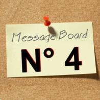 Open Message Board N° 4