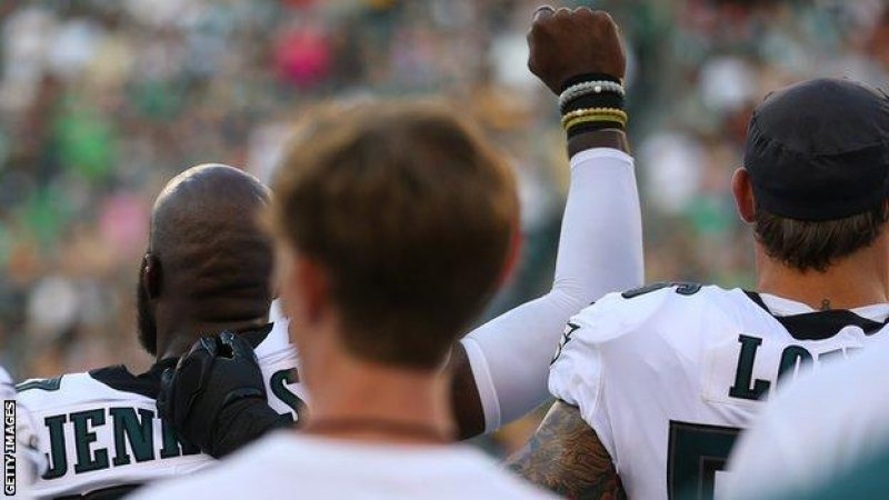 NFL Players Continue To Protest During National Anthem As Pre-season Games Begin