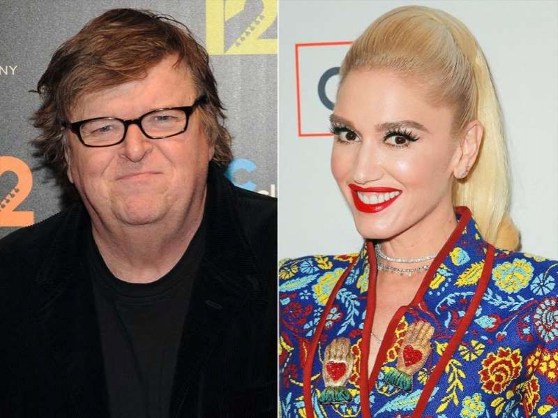 Michael Moore Claims Gwen Stefani Was the Reason Donald Trump Ran for President