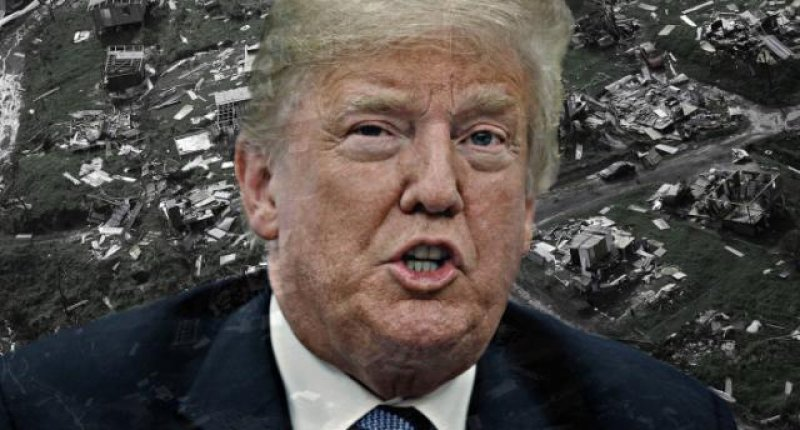 Trump pushes conspiracy theory denying Puerto Rico hurricane death toll