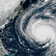 This terrifying graphic from The Weather Channel shows the power and danger of Hurricane Florence