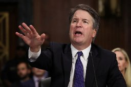 One more for the road. Kavanaugh allegedly vandalized truck in drunken rage