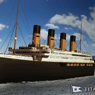 A Replica of the Titanic Will Make Its Maiden Voyage in 2022