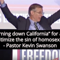 Conservative Pastor: 'God Is Burning Down California' Because The Gays
