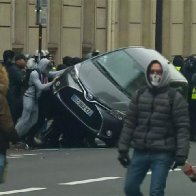 Paris on lockdown as police clash with 'Yellow Jackets' and protests sweep France