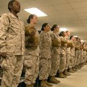 Marine Corps integrates male and female platoons during boot camp for the first time