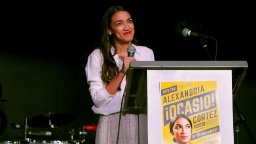 Democrat Alexandria Ocasio-Cortez fights back after articles wrongly claimed to show nude selfie